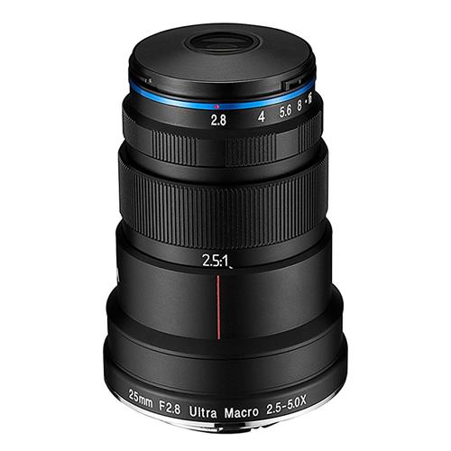 LAOWA マクロレンズ 25mm F2.8 2.5-5X ULTRA MACRO ペンタックスK用 (商品コード:LAO0032)