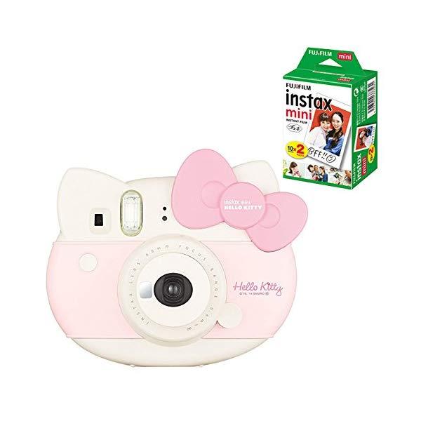 【チェキフィルム20枚セット】フジフイルム インスタントカメラ チェキ instax mini HELLO KITTY (ハローキティ)