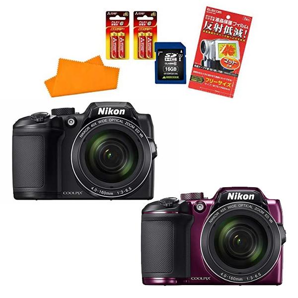 【★SD16GBセット】ニコン(Nikon) デジタルカメラ COOLPIX B500 [カラー選択式]