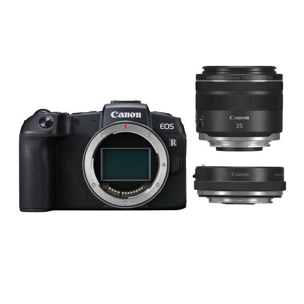 キヤノン ミラーレスカメラ EOS RP ・RF35 MACRO IS STM マウントアダプターキット EOSRP-35MISMADK (商品コード:3380C049)(Canon)