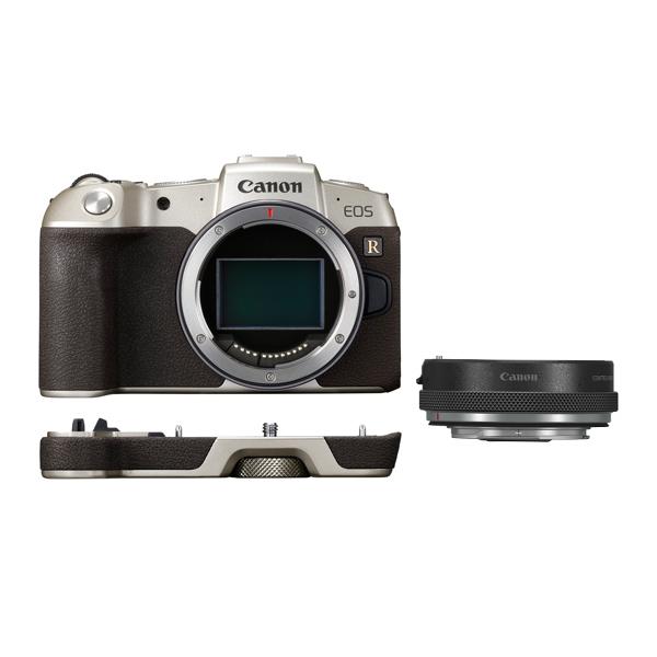 キヤノン ミラーレスカメラ EOS RP(ゴールド) マウントアダプターSPキット EOSRPGL-BODYMADK ※レンズはつきません (商品コード:3381C003)(Canon)