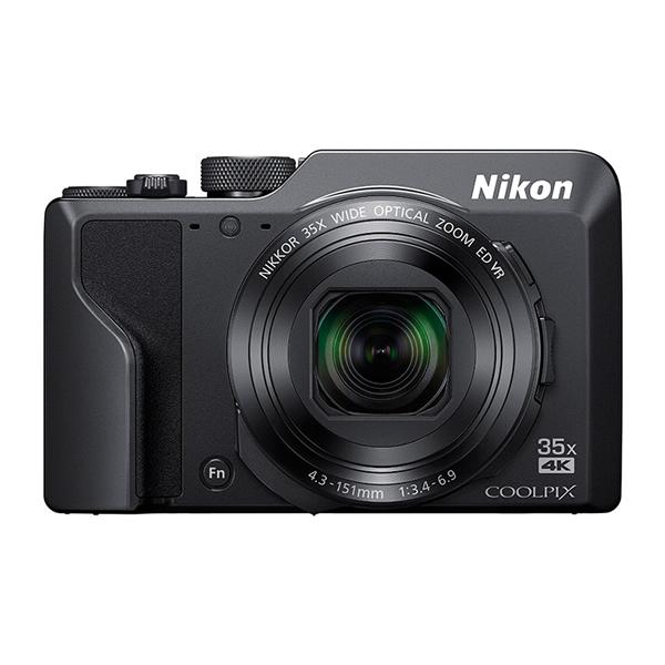 ニコン コンパクトデジタルカメラ COOLPIX A1000 ブラック (デジカメ/コンデジ)(Nikon)