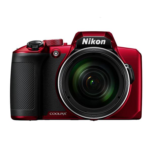 ニコン コンパクトデジタルカメラ COOLPIX B600 レッド (デジカメ/コンデジ)(Nikon)