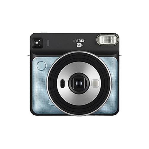 フジフイルム インスタントカメラ チェキスクエア instax SQUARE SQ6 アクアブルー (FUJIFILM)(SQ-6/ましかくチェキ/真四角チェキ)