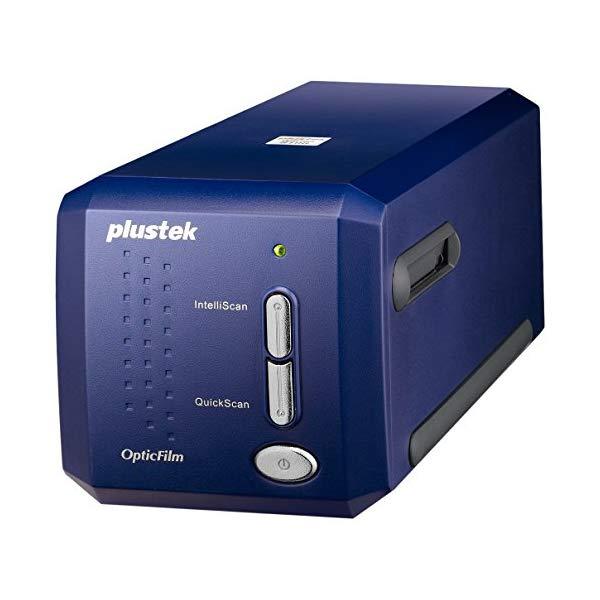 Plustek フィルムスキャナー OpticFilm 8100 / 高解像度フイルムスキャナー 白色LED採用 7200dpi USB接続