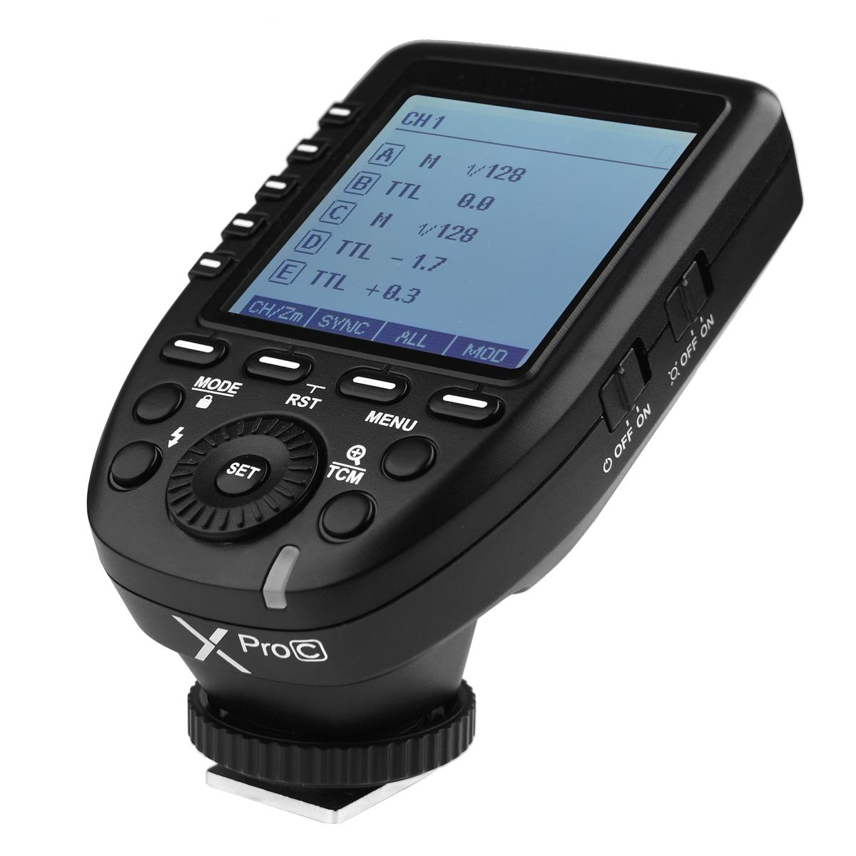 GODOX ゴドックス X Pro C キャノン用 ワイヤレスフラッシュ 外付けフラッシュ