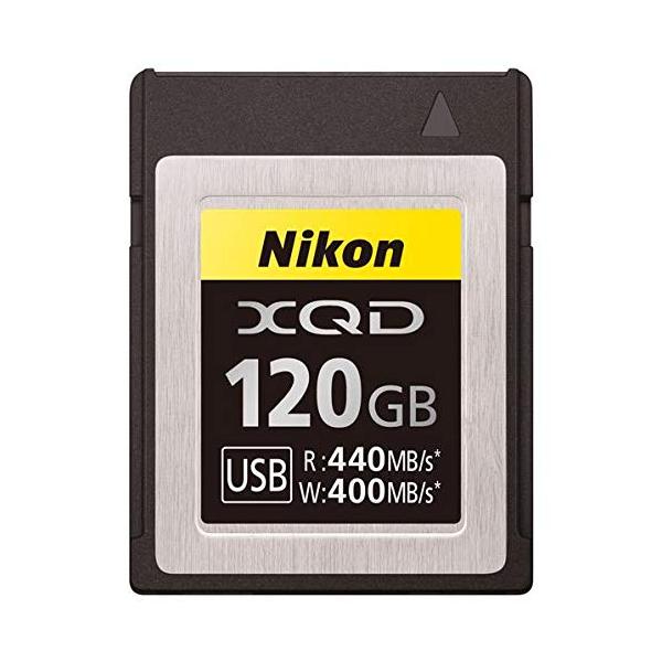 ニコン XQDメモリーカード120GB MC-XQ120G (MCXQ120G)(Nikon)
