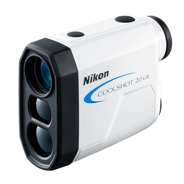 ニコン レーザー距離計 COOLSHOT20GII 直線距離専用モデル ゴルフ用距離測定器 (Nikon COOLSHOT 20 G2 GII)