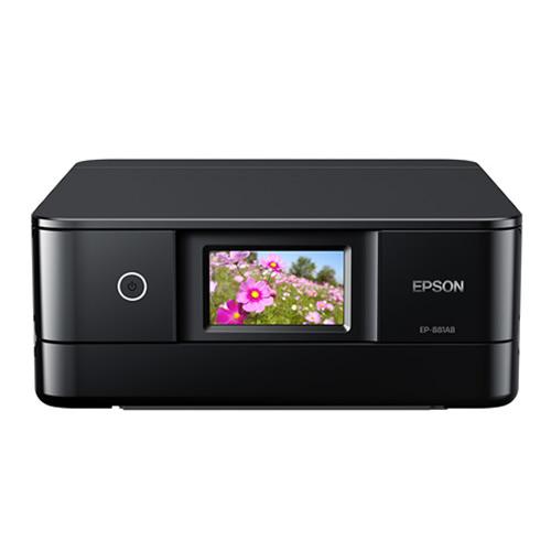 エプソン カラリオプリンター EP-881AB ブラック A4カラー複合機 (Colorio)(EPSON)