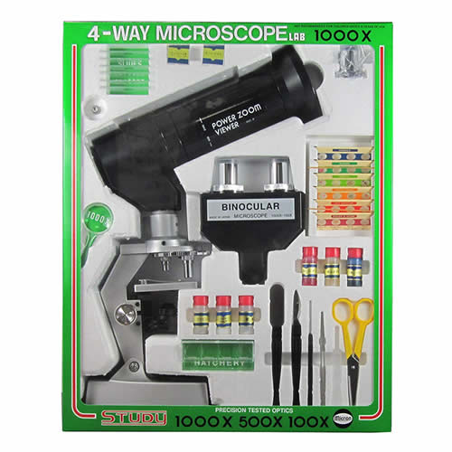 (シリコンクロス付き)MIZAR ミザール 顕微鏡セット セレクトズーム1000 倍率100~1000倍ズーム