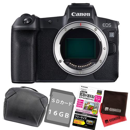 (SD16GB・フィルム・クロス・バッグ付)キヤノン ミラーレスカメラ EOS R ボディーのみ (商品コード:3075C001)(キャノン/Canon)