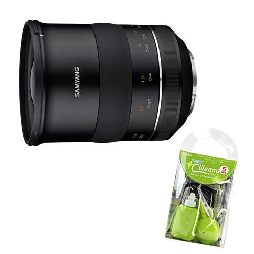 (クリーナー付き)サムヤン カメラ用交換レンズ XP 35mm F1.2 キヤノンEFマウント 単焦点レンズ マニュアルフォーカス (SAMYANG)