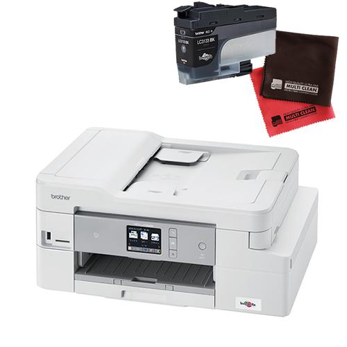(インク・クロスセット)ブラザー インクジェット複合機 MFC-J1500N ファクス機能付プリンター (MFCJ1500N)(brother) (ラッピング不可)