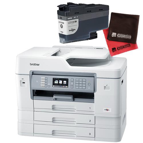 (インク・クロスセット)ブラザー ビジネスインクジェット複合機 MFC-J6999CDW A3対応 ファクス機能付プリンター (MFCJ6999CDW)(brother) (ラッピング不可)