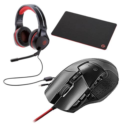 (マウスパッド&ヘッドセット付)エレコム 13ボタン搭載ハイスペックゲーミングマウス M-G02URBK ブラック 有線ケーブル接続タイプ (elecom)