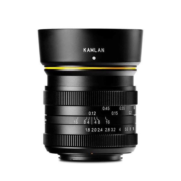 カムラン 単焦点レンズ 21mm F1.8 マイクロフォーサーズマウント KAM0013 APS-C マニュアルフォーカス (KAMLAN)
