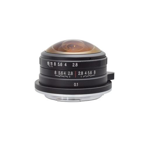 ラオワ LAOWA 4mm F2.8 Fisheye MFT マイクロフォーサーズマウント (LAO0048) 魚眼レンズ 交換レンズ