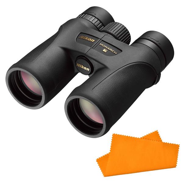 【★お手入れ用クロスがセット】Nikon(ニコン) 双眼鏡 モナーク7 10x42 <ケース・ストラップ付>