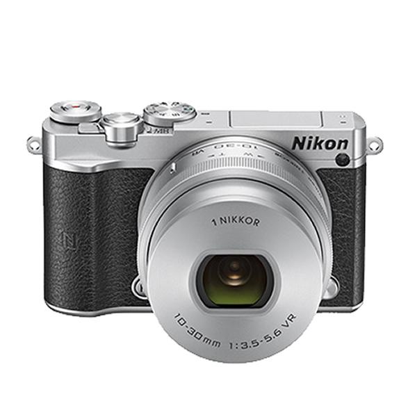 ニコン ミラーレス一眼 Nikon1 J5 標準パワーズームレンズキット [シルバー]