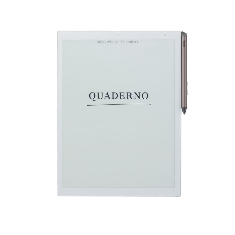 電子ペーパー 電子文具 A4サイズ QUADERNO クアデルノ 富士通 FMV-DPP03 FMVDPP03 FUJITSU