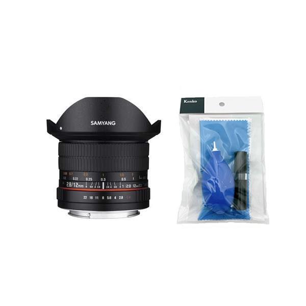 [クリーニングセット付き!]交換レンズ サムヤン 12mm F2.8 ED AS NCS FISH-EYE ニコンAE用