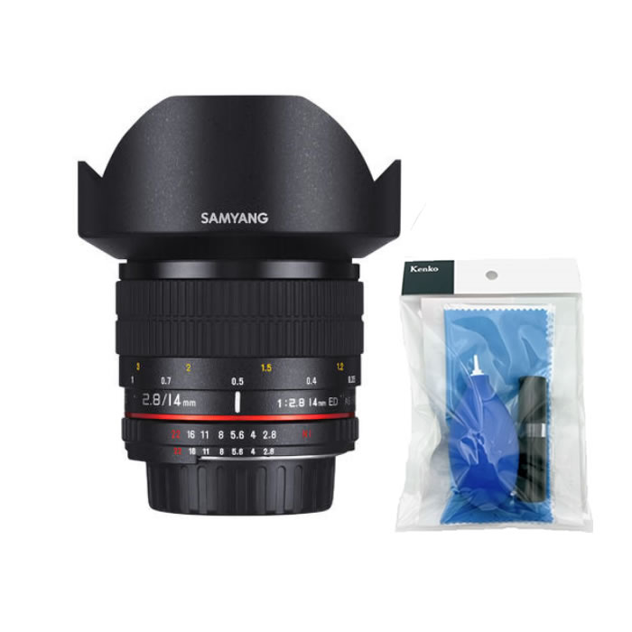 (クリーニングセット付き) サムヤン カメラ用交換レンズ 14mm F2.8 キヤノンRF (SAMYANG)