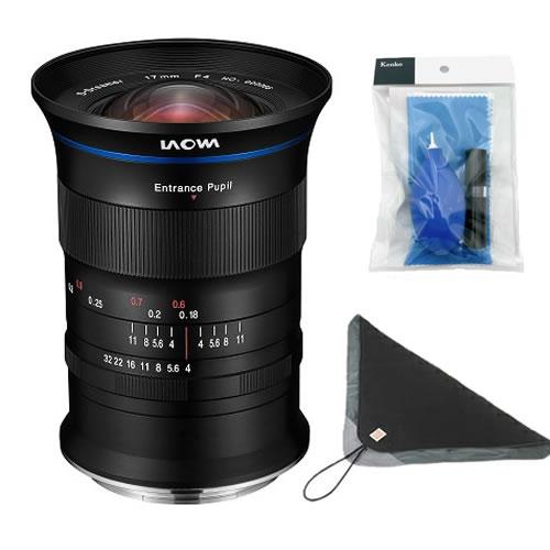 (クリーナー&ラップクッション付き)ラオワ LAOWA 17mm F4 Ultra-Wide GFX Zero-D 富士フイルムGマウント (LAO0047) 広角レンズ 交換レンズ