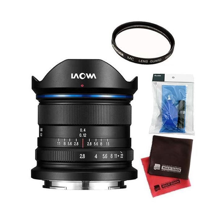 (フィルター・クリーナー・クロス付)LAOWA 広角レンズ 9mm F2.8 Zero-D ソニーE用 (商品コード:LAO0029)