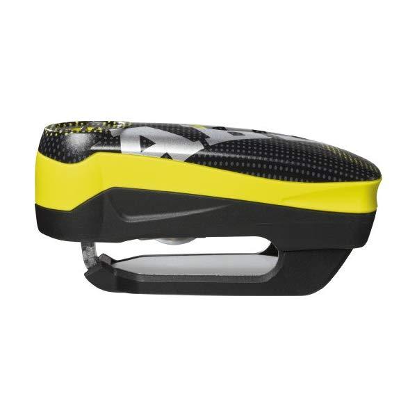 【ディスクロック】[ABUS/アブス] Detecto(ディティクト) 7000 RS1 pixel yellow 10mm BLACK/YELLOW【アバス】