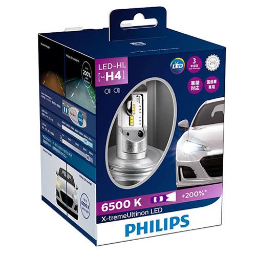 フィリップス X-tremeUltinon LED 12901HPX2JP エクストリームアルティノンLED