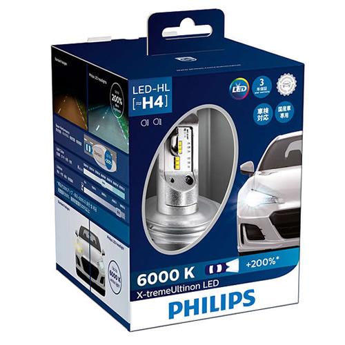 PHILIPS フィリップス 自動車用ヘッドランプ X-tremeUltinon LED 12953BWX2JP エクストリームアルティノンLED