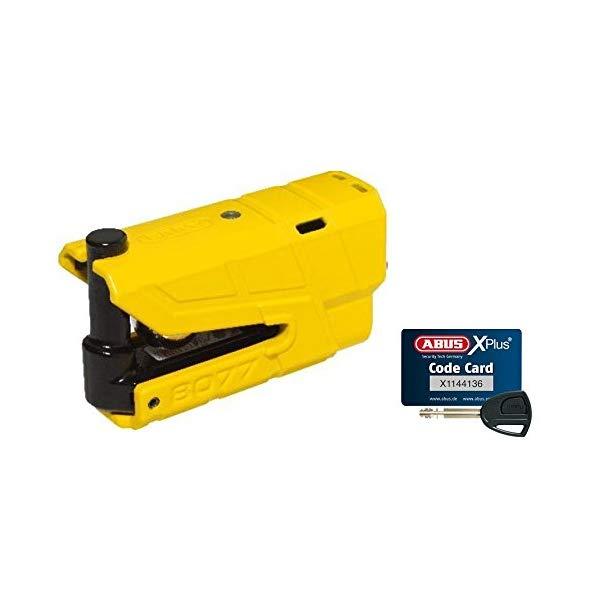 【送料無料】ABUS【バイク用品】アブス Granit Detecto X-Plus 8077 Yellow