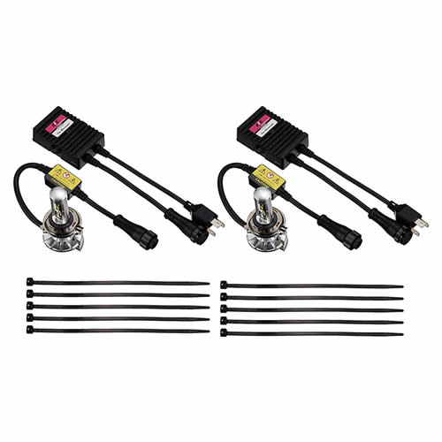 ZRAY XD ヘッドライト専用 LEDバルブキット (品番:RXK1) H4切替 軽貨物用 6000K (カー用品)(ZRAYXD)
