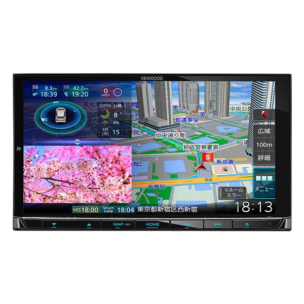 ケンウッド 彩速ナビ MDV-M906HD 180mmモデル AVナビゲーションシステム カーナビ (KENWOOD)