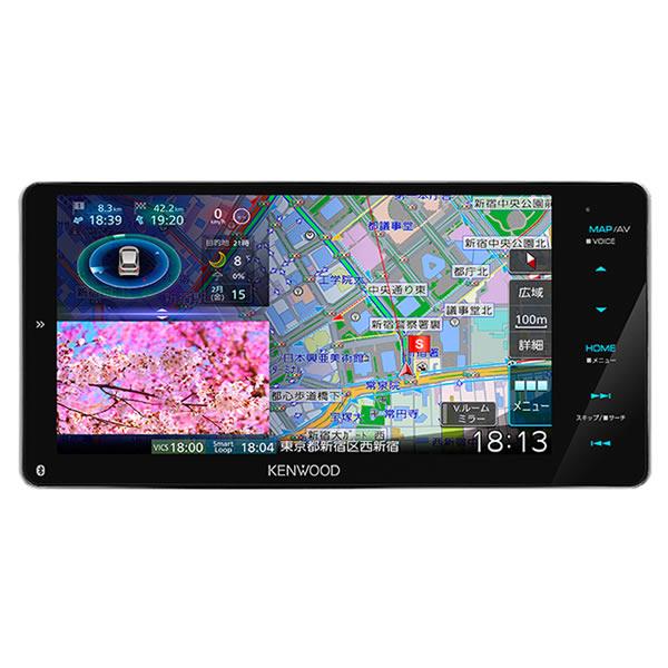 ケンウッド 彩速ナビ MDV-M906HDW 200mmワイドモデル AVナビゲーションシステム カーナビ (KENWOOD)