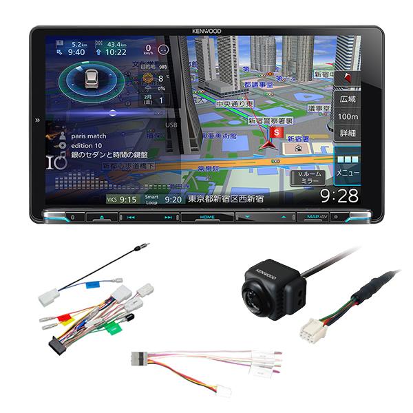 (リアカメラ&配線キット付き)ケンウッド 彩速ナビゲーション MDV-M906HDL AVナビゲーションシステム 9V型 カーナビ (KENWOOD) (ラッピング不可)
