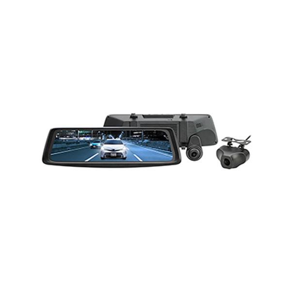 ミラー型2カメラドライブレコーダー ドラレコ 大橋産業 BAL No.5610 前後録画ドライブレコーダーミラー バルーチェ(ラッピング不可)
