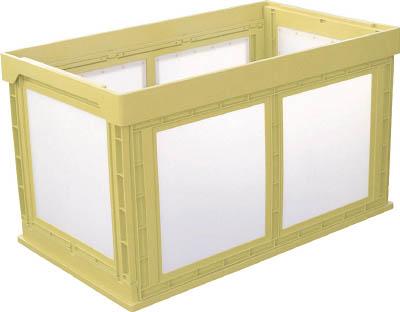 【代引不可】【メーカー直送】 KUNIMORI 【コンテナ・パレット】 プラスチック折畳ミコンテナ
