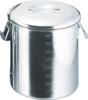【代引不可】【メーカー直送】 スギコ 【ボトル・容器】 18-8目盛付深型キッチンポット 内蓋式 360x360 SH4636D (3320405)【ラッピング不可】