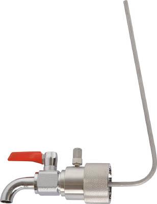 【代引不可】【メーカー直送】 アクアシステム 【ボトル・容器】 一斗缶用コック (油・オイル・洗剤)40mm専用 BVA40I (3646106)【ラッピング不可】