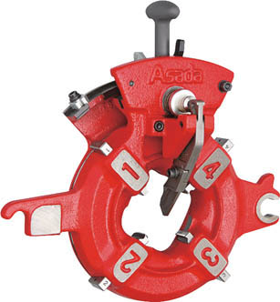 【代引不可】【メーカー直送】 アサダ【水道・空調配管用工具】 水道・ガス管用アストロニックダイヘッド 自動 AT1