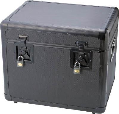 【代引不可】【メーカー直送】 トラスコ中山【工具箱・ツールバッグ】万能アルミ保管箱 黒 543X410X457 TAC540BK (4162951)【ラッピング不可】