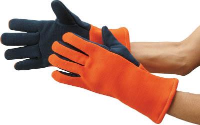 【代引不可】【メーカー直送】 マックス【作業手袋】 300℃対応耐熱手袋 ロングタイプ MZ637 (4477634)【ラッピング不可】