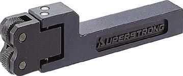 【代引不可】【メーカー直送】 スーパーツール【旋削・フライス加工工具】転造オートスライドロ-レツトホルダー(当社規格ローレット駒アヤ目用) KH2 (2700913)【ラッピング不可】