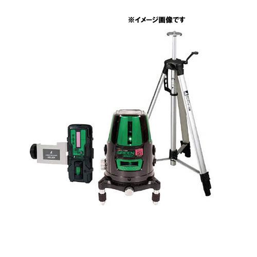 シンワ レーザーロボグリーンNeo51BRIGHT受光器・三脚セット【ラッピング不可】