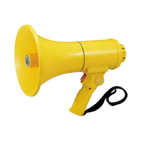 【TOA/拡声器】 中型ハンド型メガホン ホイッスル音付き ER-1115W【ラッピング不可】