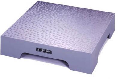 【代引不可】【メーカー直送】 ユニセイキ【測定工具】箱型定盤(A級仕上)300x450x60mm U3045A (3749860)【ラッピング不可】