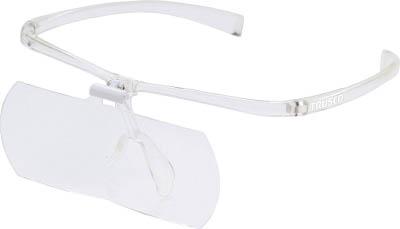 【代引不可】【メーカー直送】 トラスコ中山【光学・精密測定機器】双眼メガネルーペ1.6/2/2.3倍セット フレーム透明 TSMSETTM (7642474)【ラッピング不可】