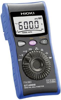 【代引不可】【メーカー直送】 日置電機【計測機器】 デジタルマルチメータ DT4222 DT4222 (7538588)【ラッピング不可】