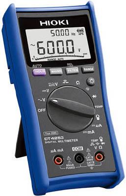 【代引不可】【メーカー直送】 日置電機【計測機器】 デジタルマルチメータ DT4253 DT4253 (7538618)【ラッピング不可】